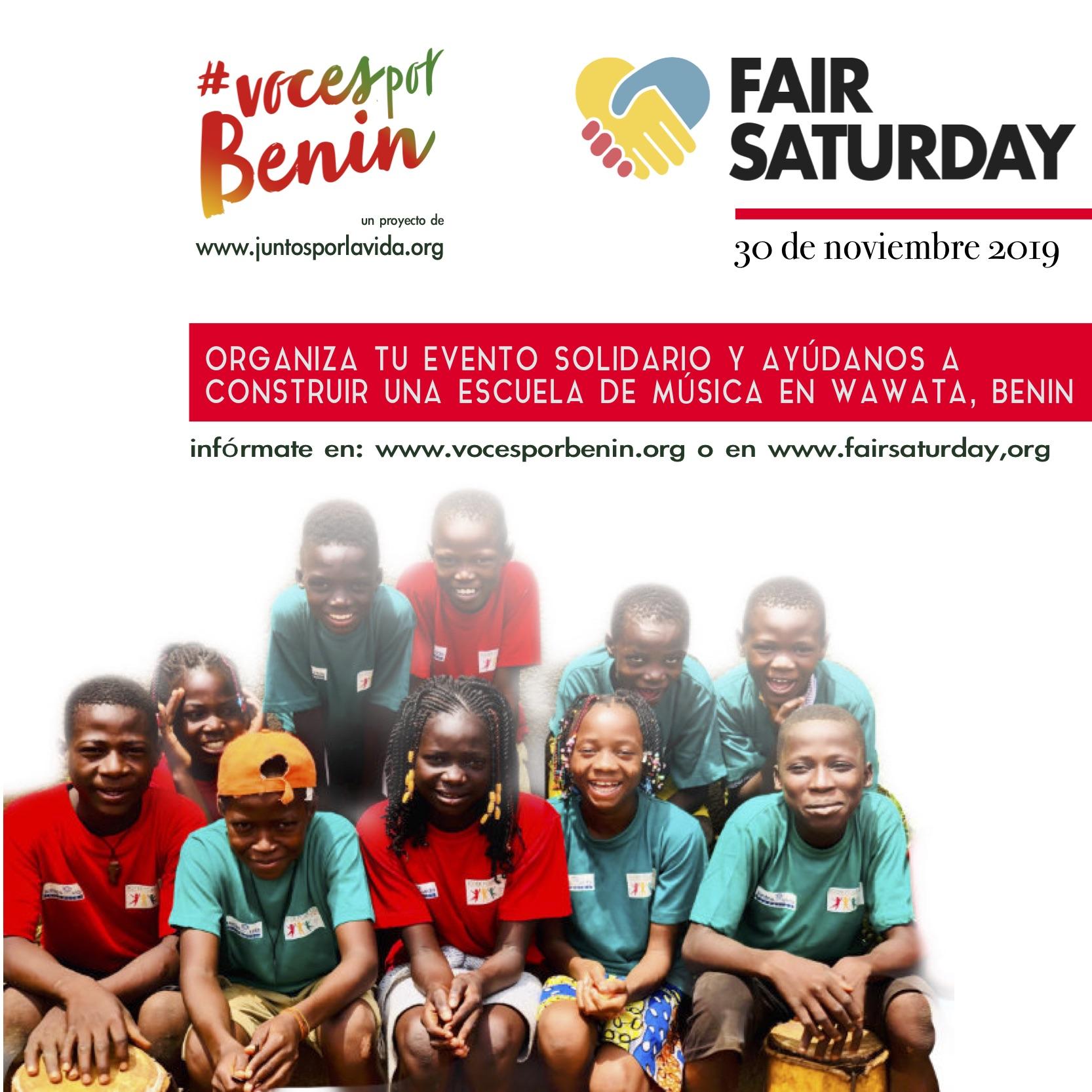 ÚNETE A NOSOTROS EN EL Fair Saturday!!